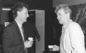 Dr Leggett and Prof Smythe 1990